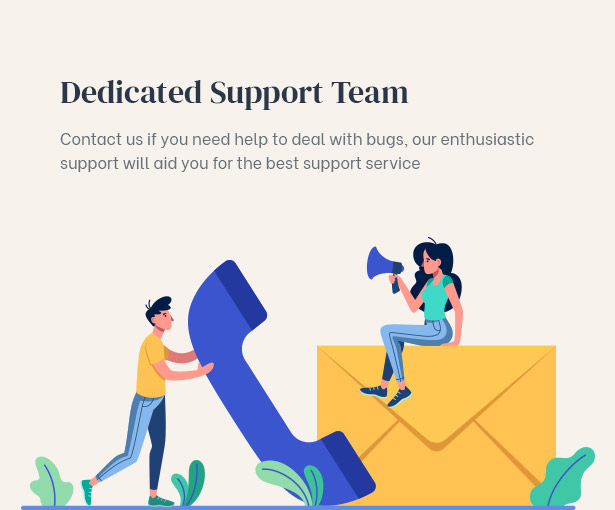 Professional support provided to aid you to fix bugs related to this real estate investor wordpress theme
