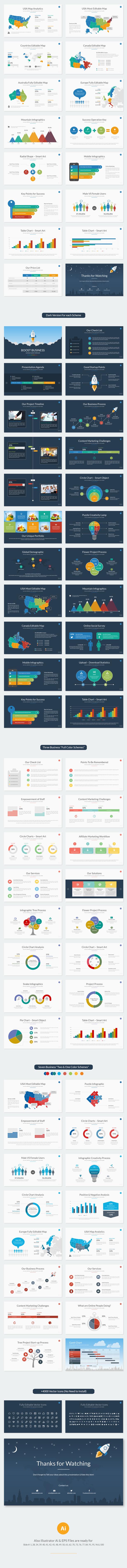 Boost Business Google Slides Template - 1