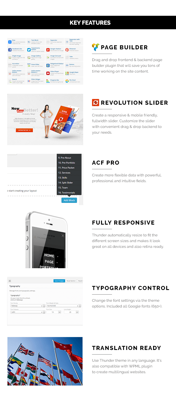 Thunder - Responsive Minimal Agency / Portfolio Theme - 2
