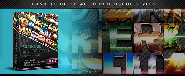 50 Text Effects Bundle vol. 01