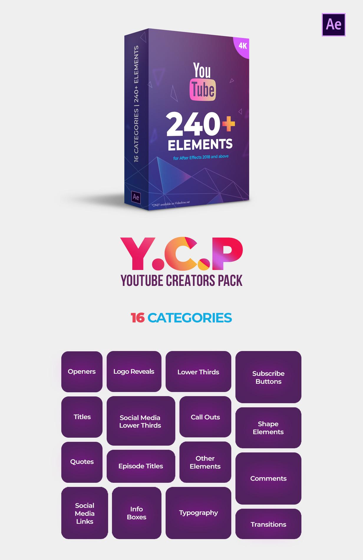 Youtube Creators Pack - 1