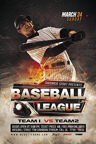 100-Baseball-league-flyer