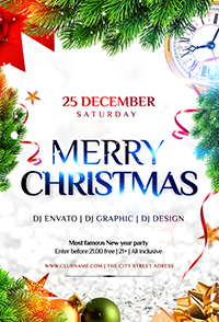 Christmas Holiday Flyer V3 - 16