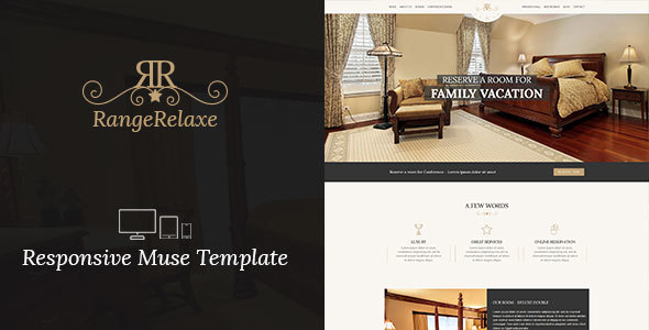 RangeRelaxe - Hotel & Resort Responsive Muse Template