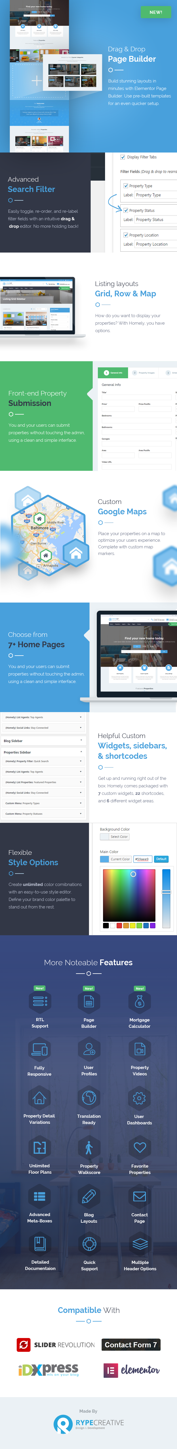 Homely - Real Estate WordPress Theme 2