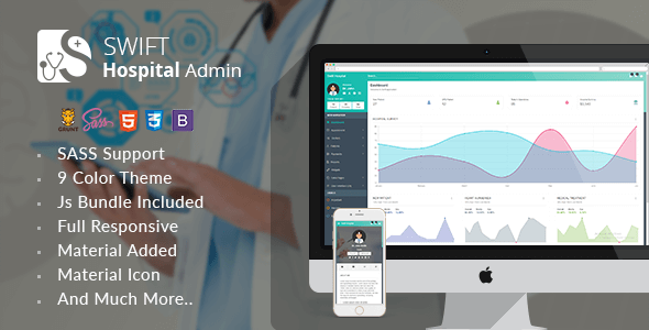 Swift Hospital Admin Template