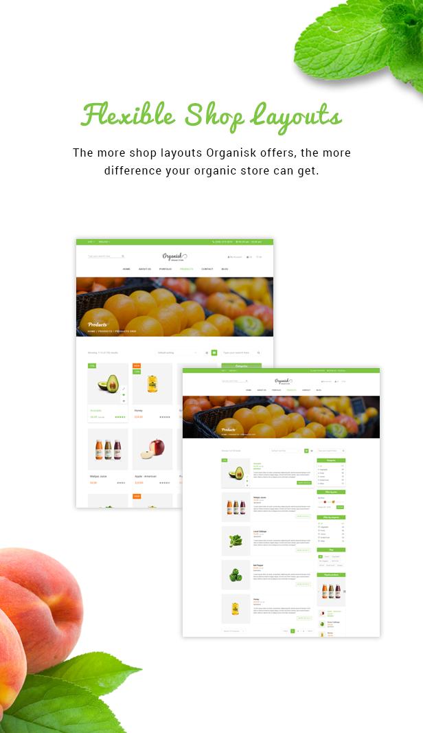 Organisk - Multipurpose Organic WooCommerce Theme - 3