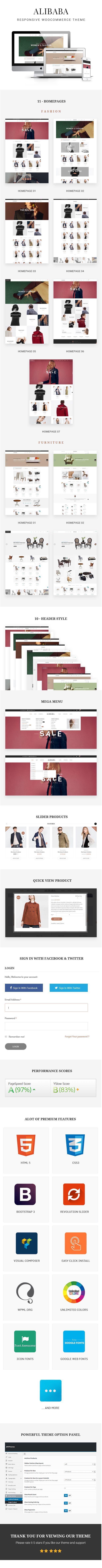 Shopping and Furniture WooCommerce WordPress Theme