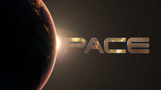 Space Logo Reveal - 1