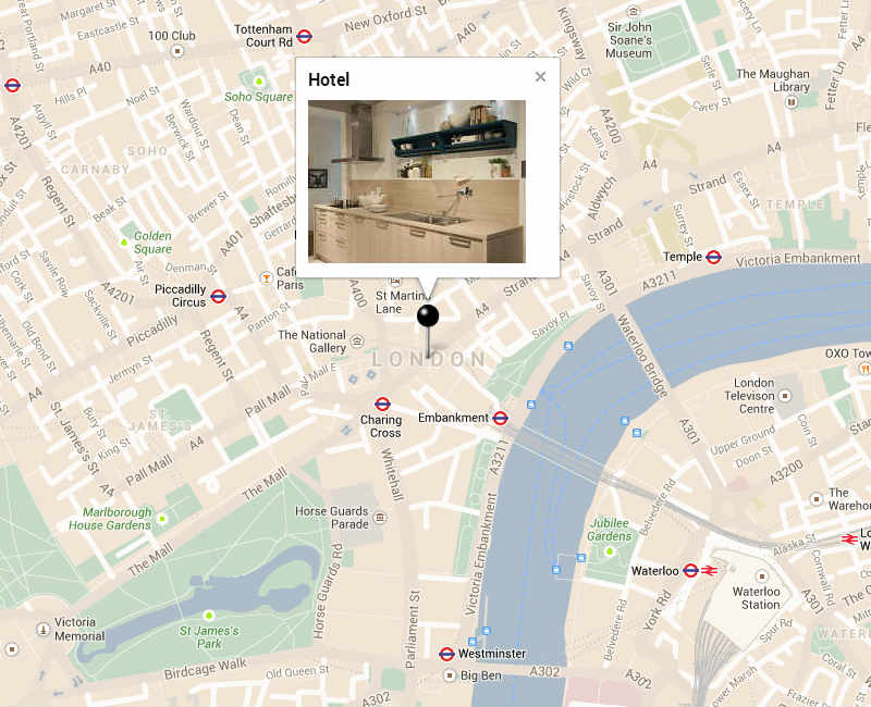 Google Maps with Infowindow-Slideshow - 3