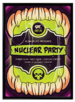 Halloween Nuclear Poster - 3