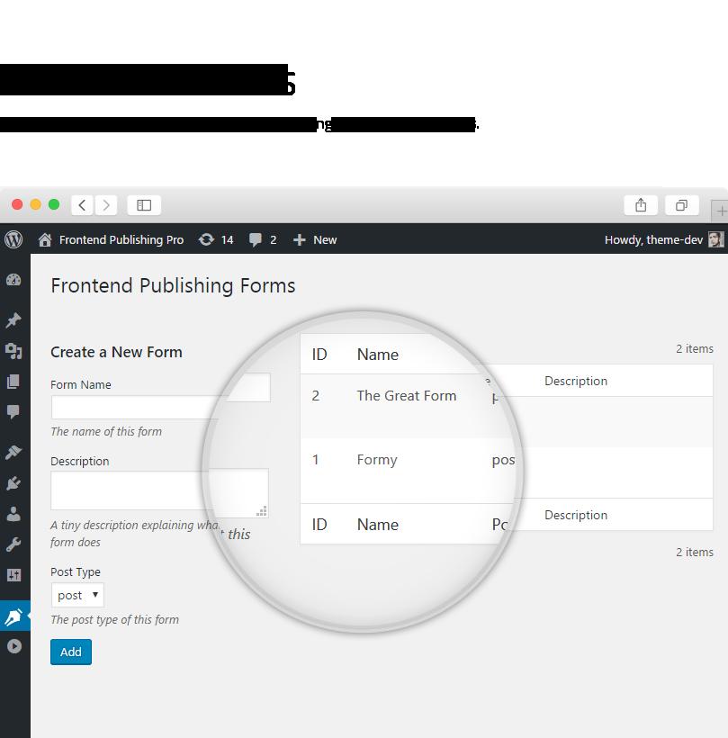 Frontend Publishing Pro - WordPress User Submission Plugin - 6