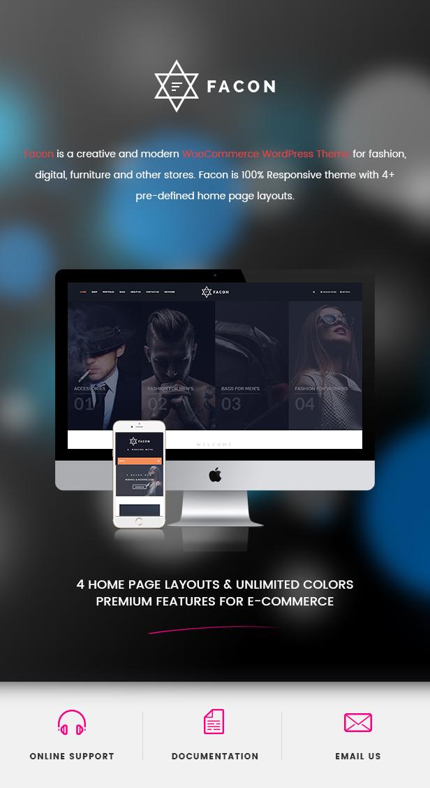 Facon - Fashion Responsive WordPress Theme 28
