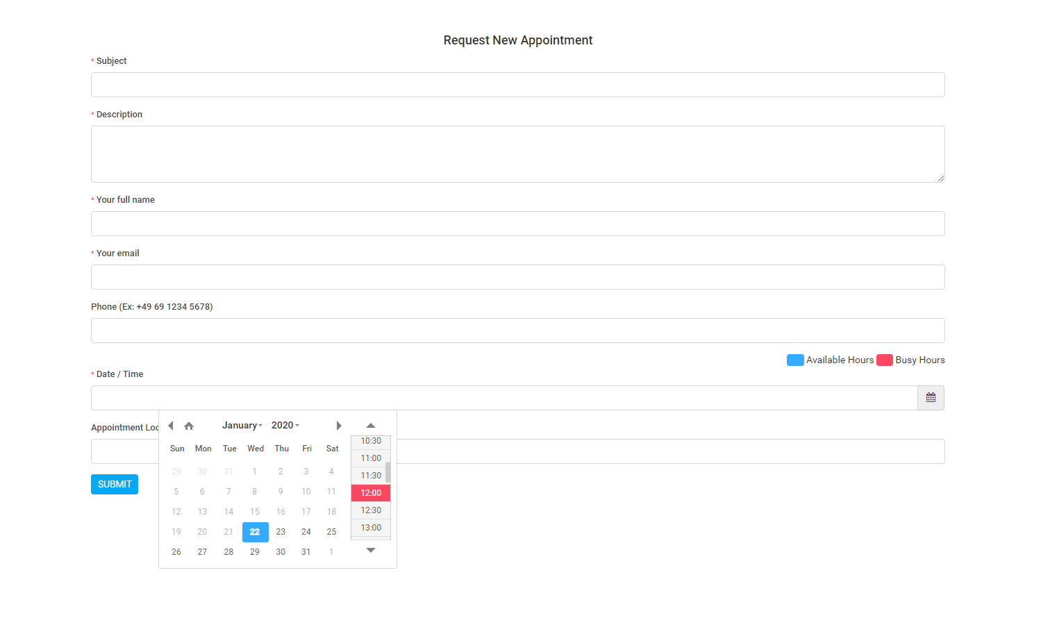 Appointly - Perfex CRM Appointments - 16
