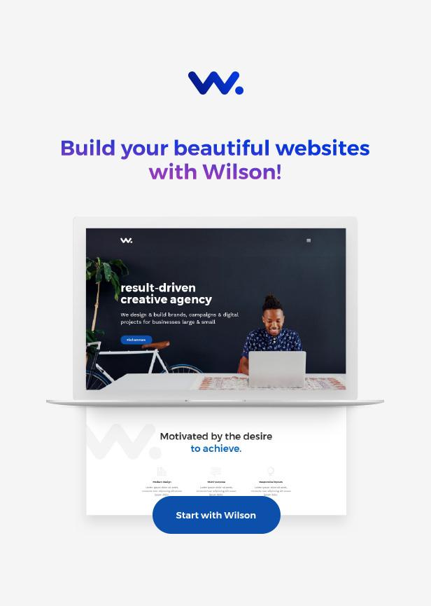 Wilson – Multipurpose WordPress Theme
