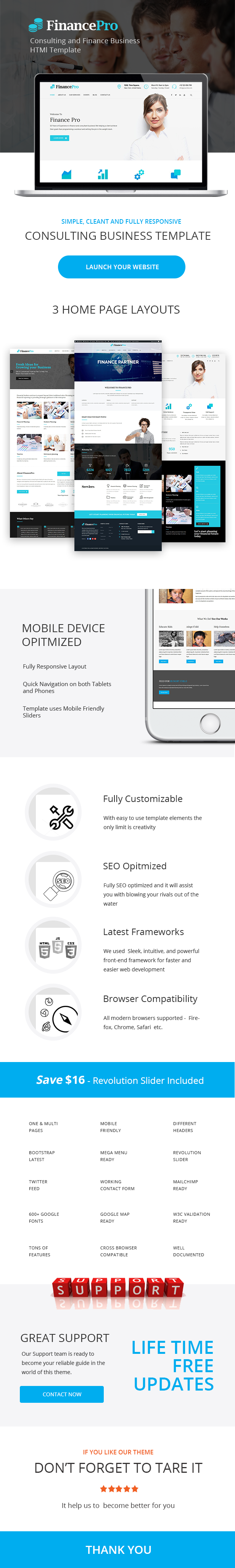 FinancePro - Consulting and Finance Business HTML Template - 4
