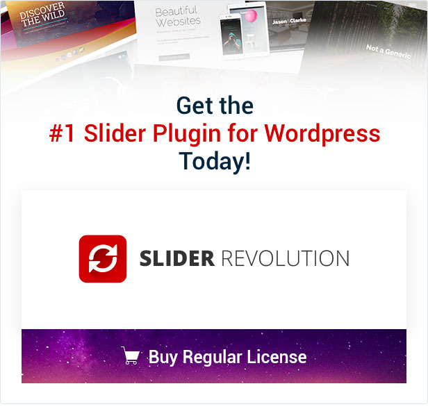 Slider Revolution Buy Now