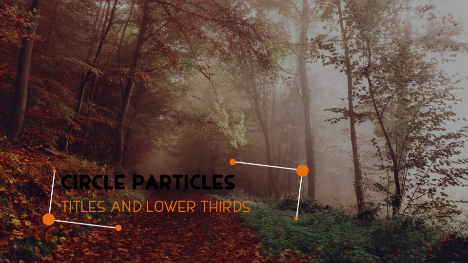 Circle Particle Lower Thirds - 2