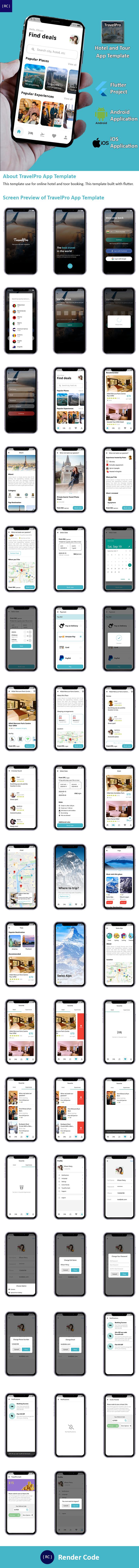 StunningKit - Biggest Flutter App Template Kit (15 App Template) - 3