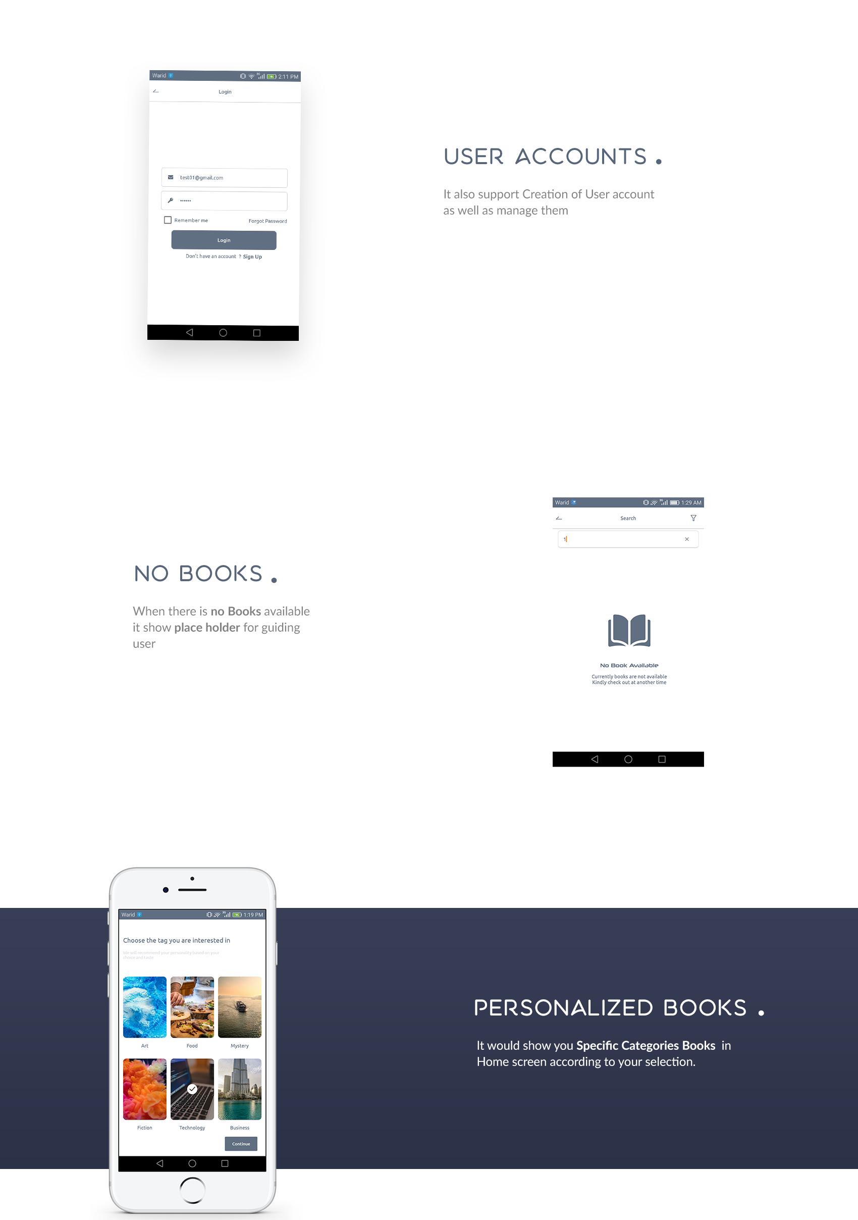 Books4u - Android Ebook App + Admin panel - 9