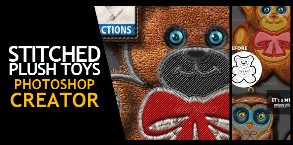 Fur and Knitted Fabric Photoshop Actions - 10