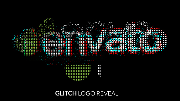Grunge Glitch Logo Reveal - 4