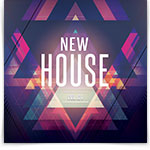 New House CD Cover Artwork