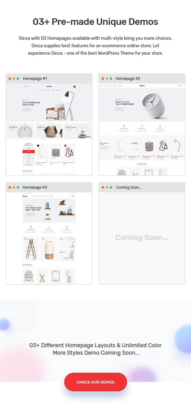 Ginza - Furniture Theme for WooCommerce WordPress 23