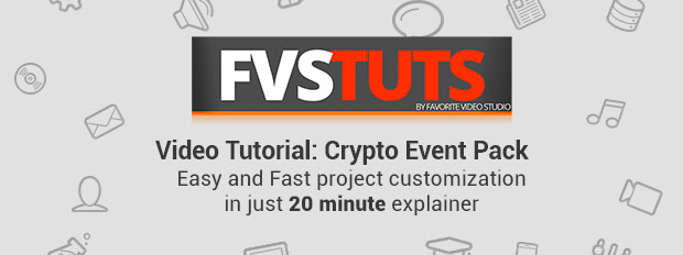 Crypto Event Template - VideoTutorial