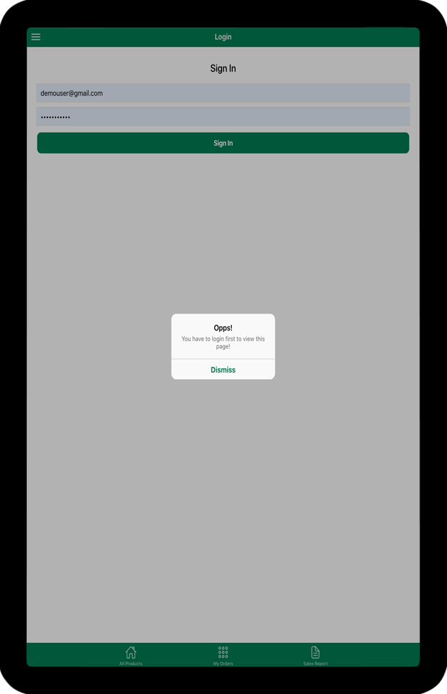 WooCommerce Point of Sale (POS) Android iOS apps using Ionic 5 Angular - 11