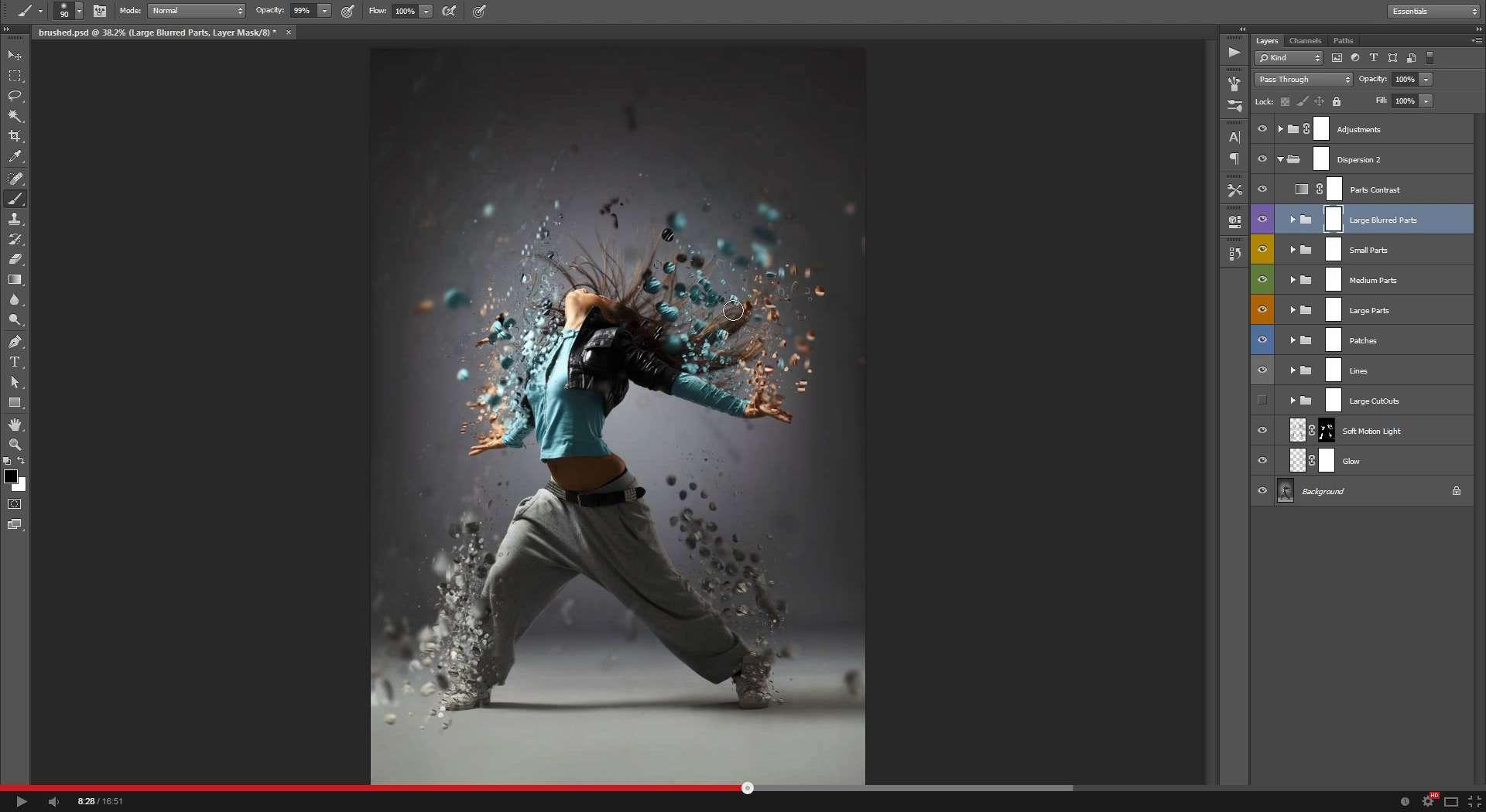 Dispersion 2 Photoshop...