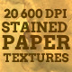20 Stained Paper Textures