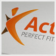 Fitness Activity Logo Template