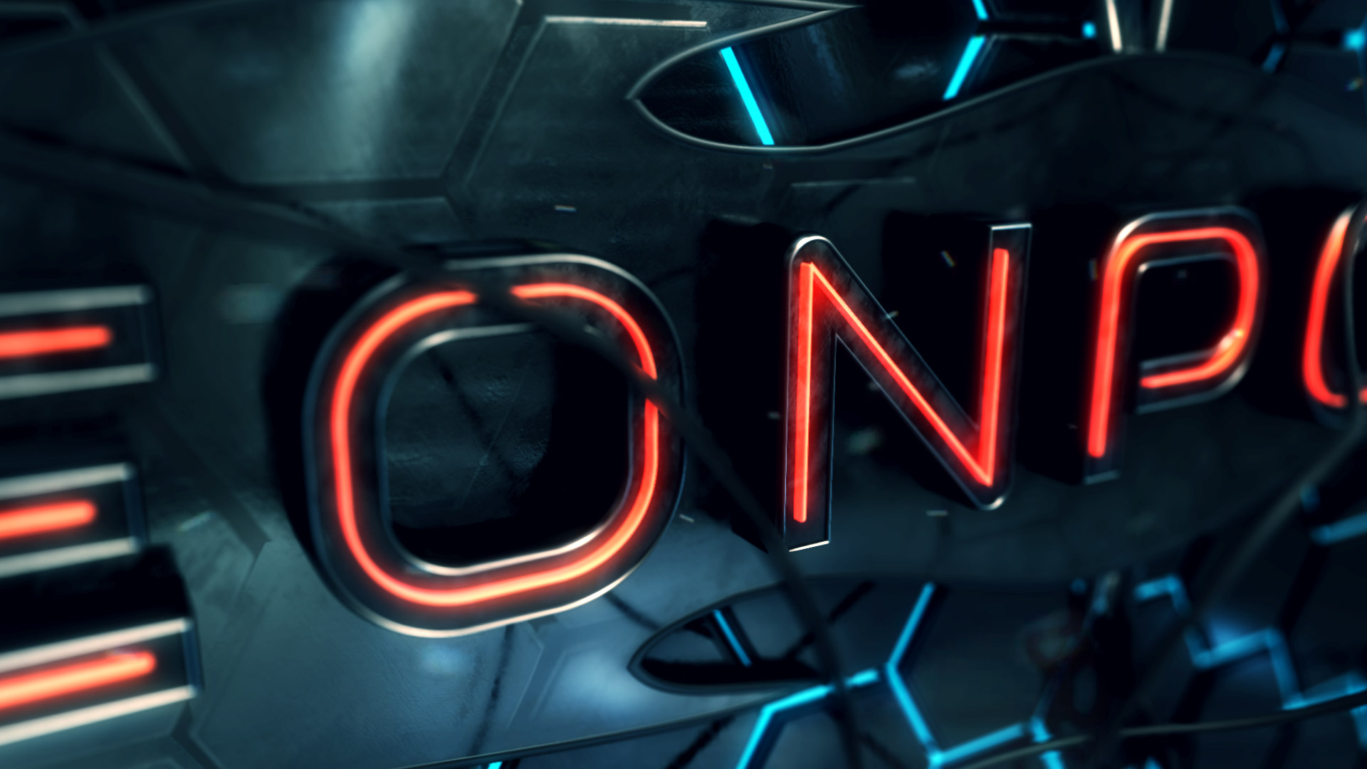 Neon Power Logo Opener - 5