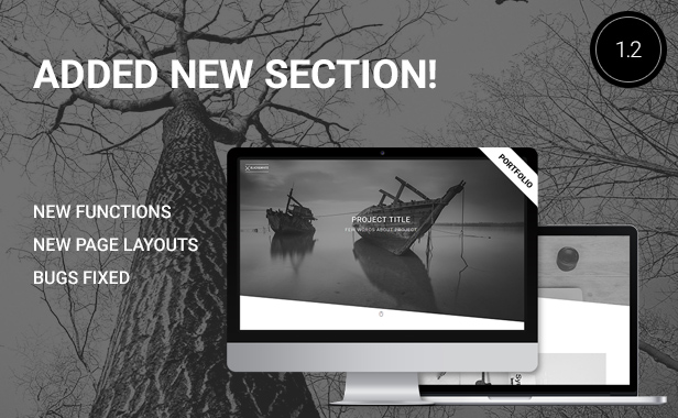 Black&White - Creative Multipurpose WordPress Theme - 3