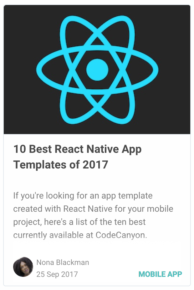 BeoStore - Complete Mobile UI template for React Native - 4