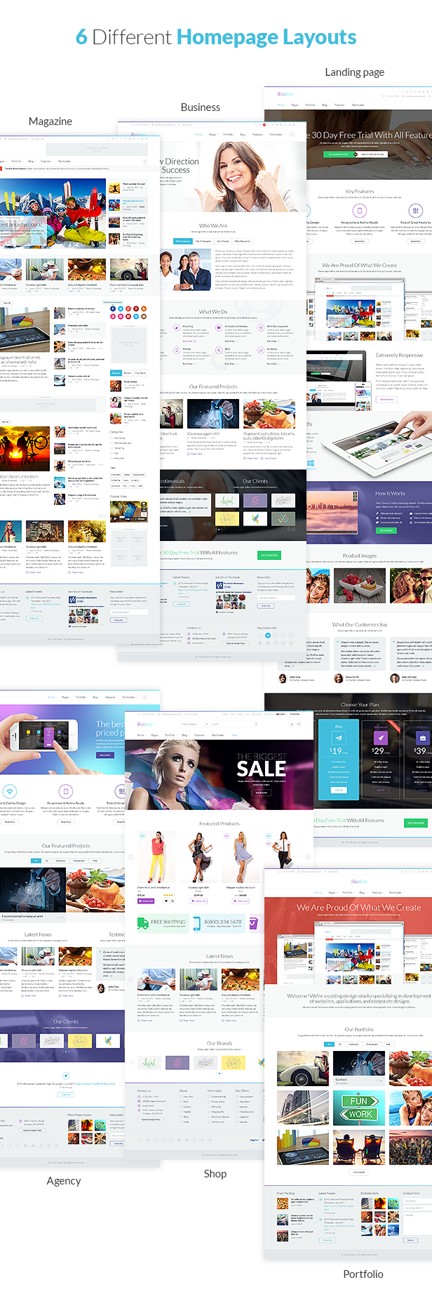 illusion - Premium Multipurpose HTML Template - 4