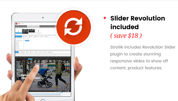 strollik single product-slider revolution