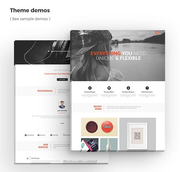 Shade - Creative Template - 3
