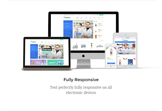 Medicare Pharmacies responsive healthcare WordPress theme