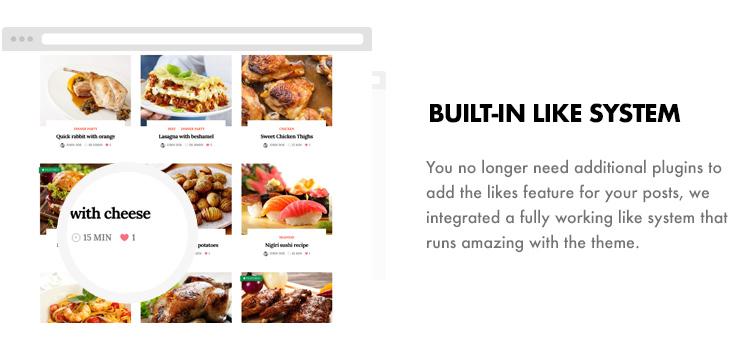Foodbook - Receita da Comunidade, Blog, Food & Restaurant Theme - 15