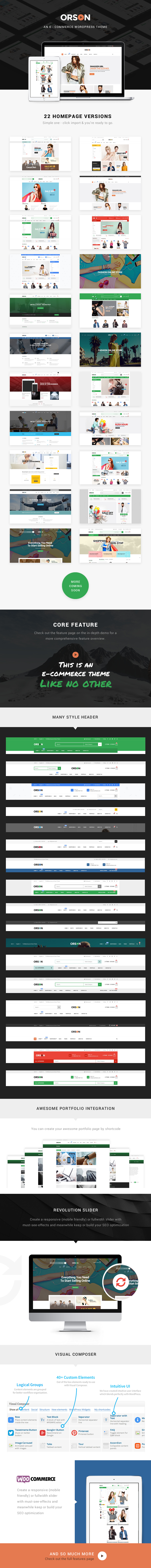 Orson - Innovative Ecommerce WordPress Theme for Online Stores - 3