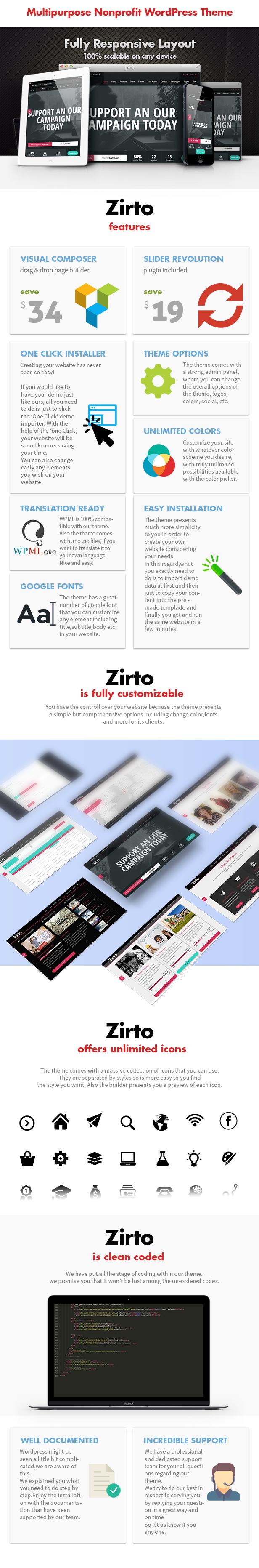 Zirto - Charity Crowdfunding Theme - 3