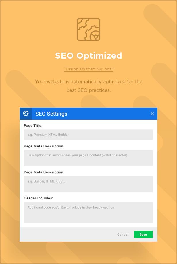 MEGAPACK – Marketing HTML Landing Pages Pack + PixFort Page Builder Access - 34