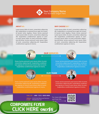 Corporate Business Flyer Template - 6