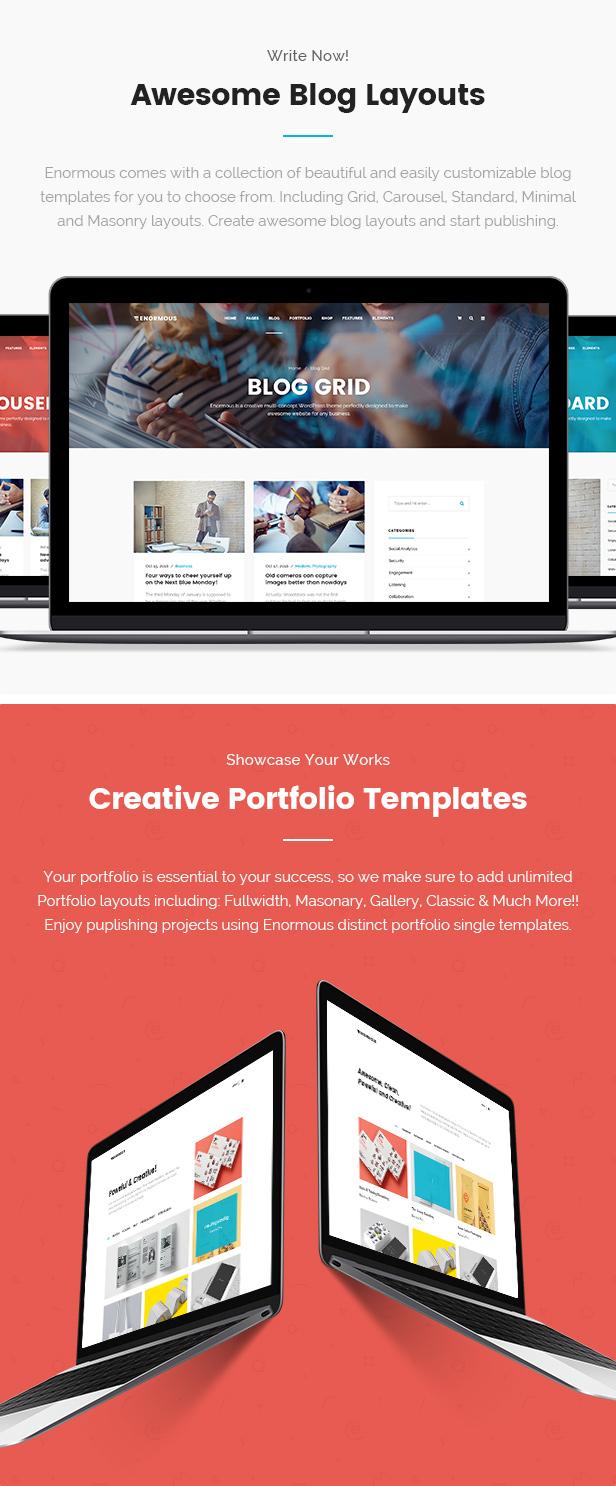 Enormous Business - Responsive Multi-Purpose WordPress Theme - 8