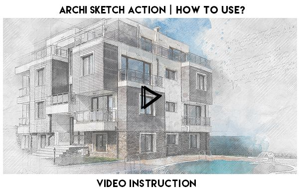 Archi Sketch Photoshop Action - 1