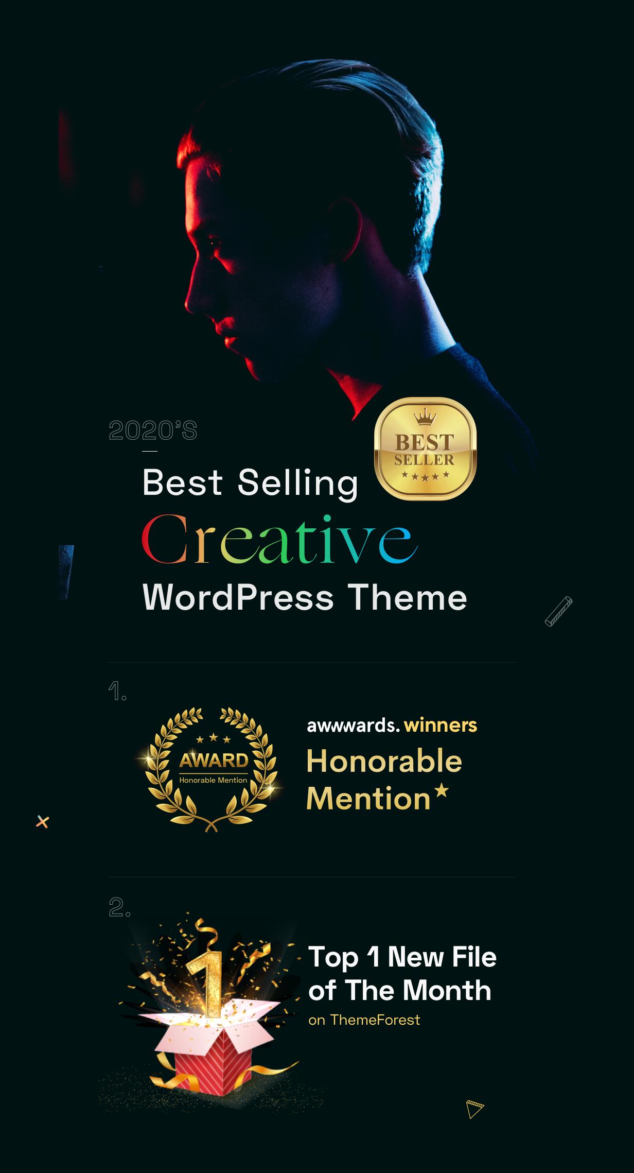 Billey - Creative Multipurpose WordPress Theme - Awwwards