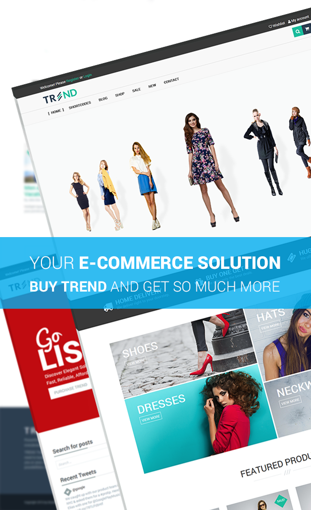 Trend - Multipurpose / Fashion / Restaurant / Construction / Modern Shop WooCommerce WordPress Theme - 15
