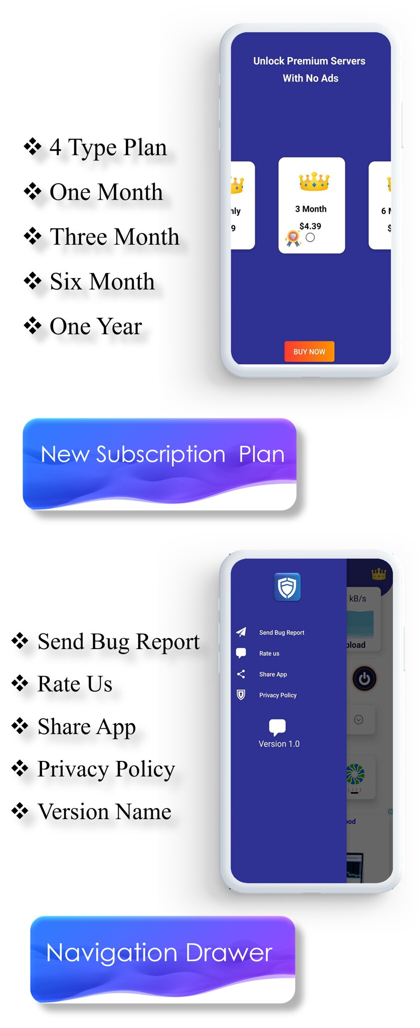 TOTO - VPN | VPN App | Facebook Ads | Admob Ads | Ads Manage Remotely | VPN  | VPN Subscription Plan - 7